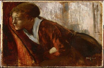 Melancholy, Degas 1874.